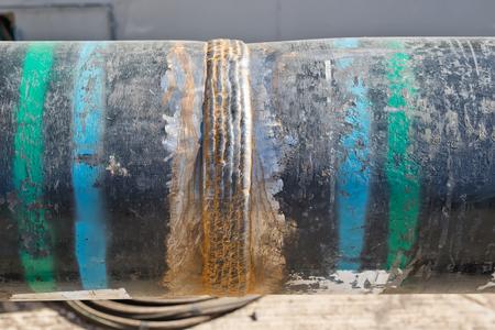 firmeza: Multi-pass cordón de soldadura en la tubería con un gran espesor de pared