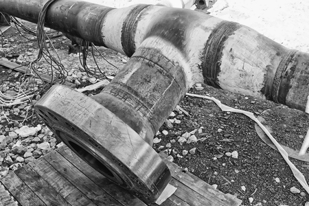Details of the thick-walled tubing after heat treatment are on odebranie on the territory of the plant refinery