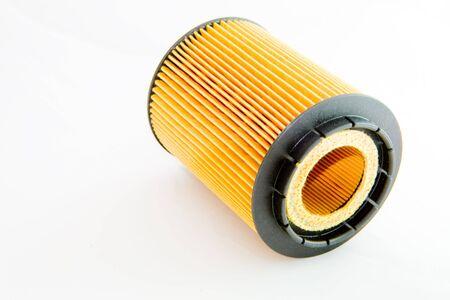 filtraci�n: Un filtro de cartucho aisladas sobre fondo blanco
