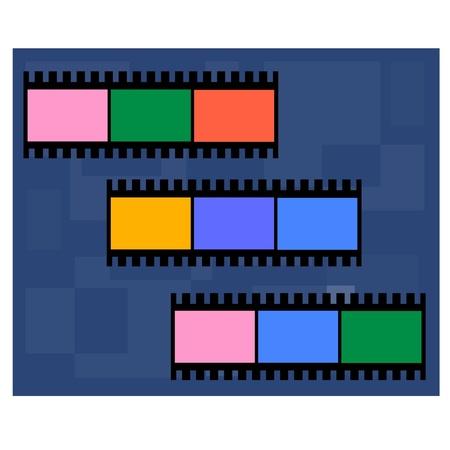 blank photo: Image of Film texture