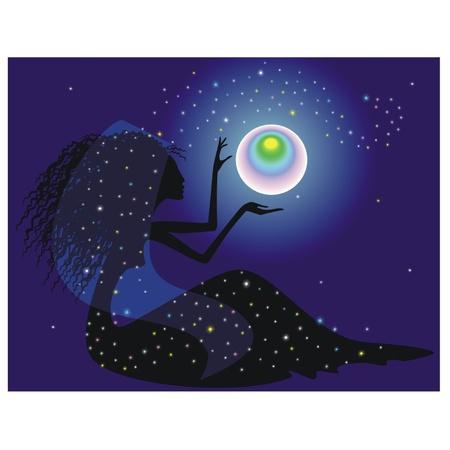 gitana: Adivina con una bola mágica