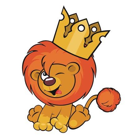 smirk: Cute lion crown