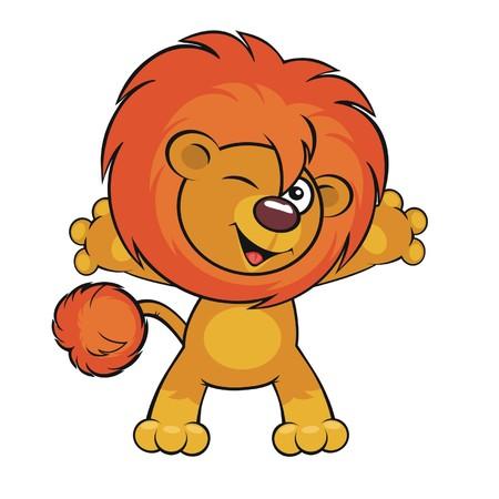 sneer:  Cute lion