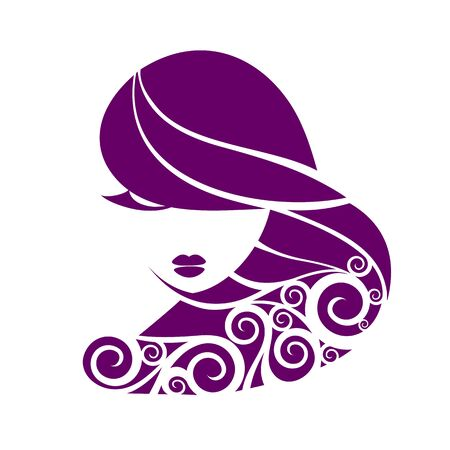 female stripper: Portrait of a beautiful fantasy girl