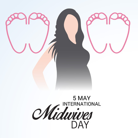International Midwives day Illustration