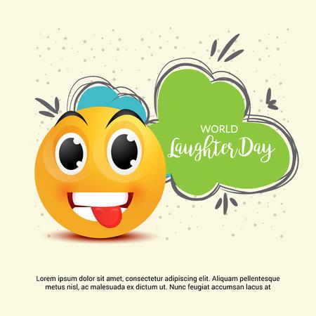 세계의 웃음의 날. 일러스트
