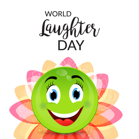 laughter: World Laughter Day.