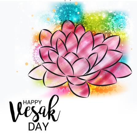 Buon giorno di Vesak. Archivio Fotografico - 77479735