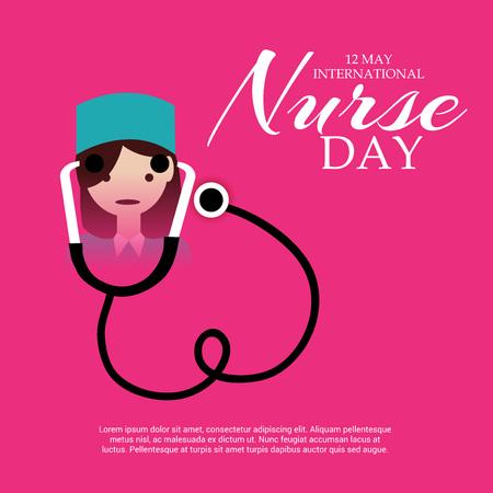 medical gloves: International Nurse Day.