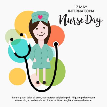 国際看護師の日。