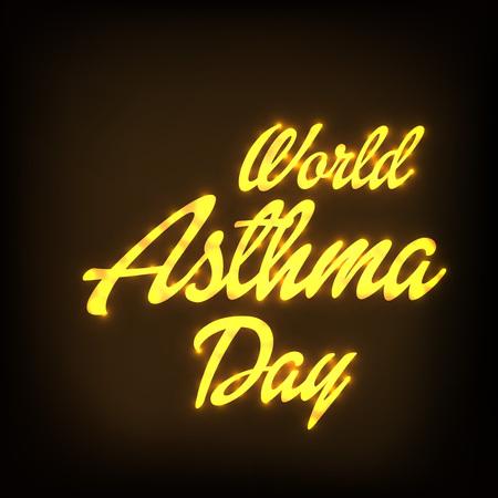 World Asthma Day Illustration