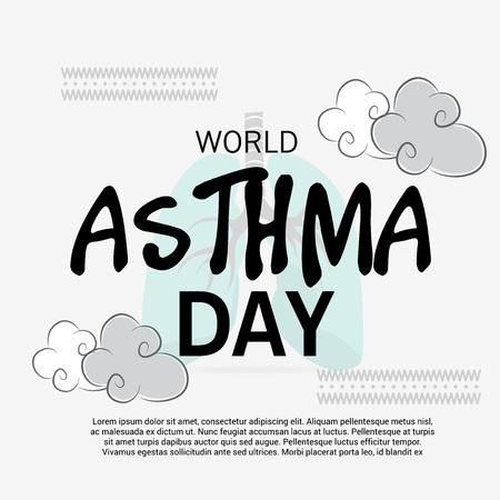 inhalation: World Asthma Day.