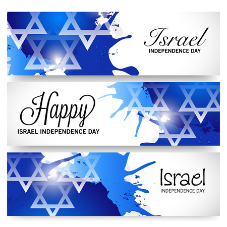 Israel Independence Day. Stock Illustratie