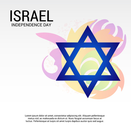 independance: Happy Israel Independence Day . Illustration