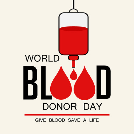 World Blood Donor Day concept.