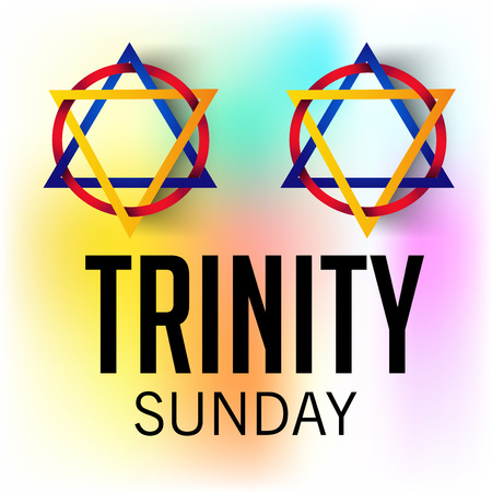 worship praise: Trinity Sunday Background Illustration