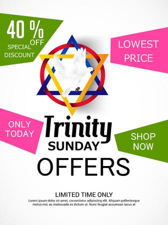 praise: Trinity Sunday Background Illustration