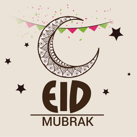 Eid Mubarak Standard-Bild - 80321721