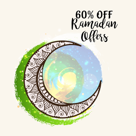 Ramadan Offer. Illustration