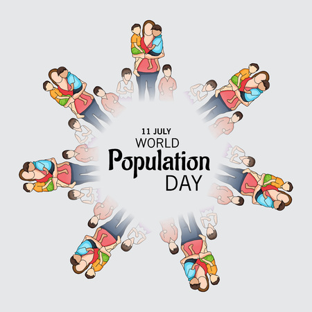 World Population Day. Stock Vector - 81289117
