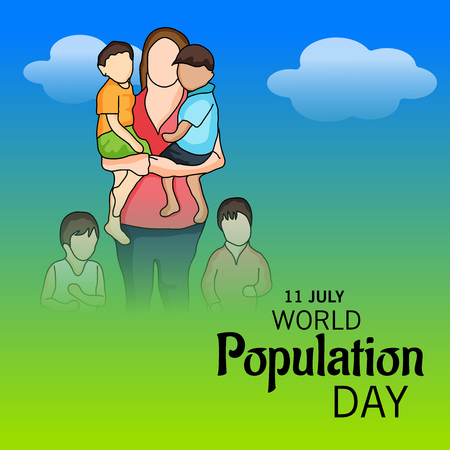 earth day: World Population Day.