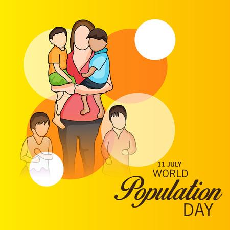 flat earth: World Population Day.