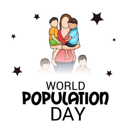World Population Day. Stock Vector - 81221018