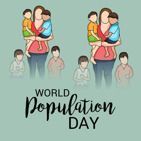multi cultural: World Population Day.