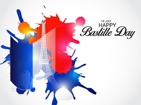 fourteen: 14th July Bastille Day