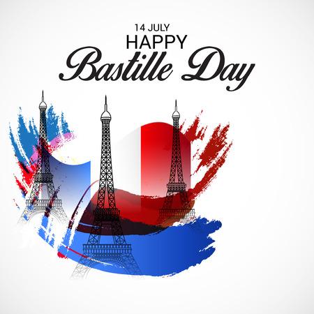 7 月 14 日フランス革命記念日