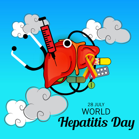 World Hepatitis Day. Illustration