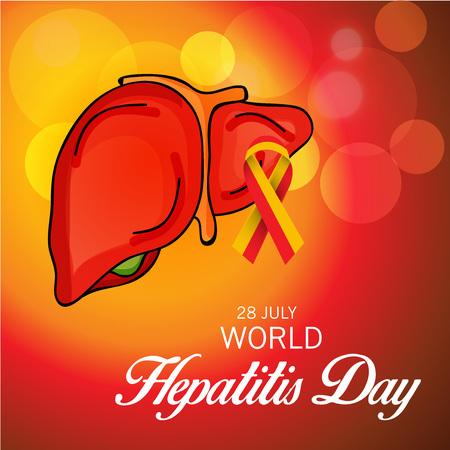 human liver: World Hepatitis Day