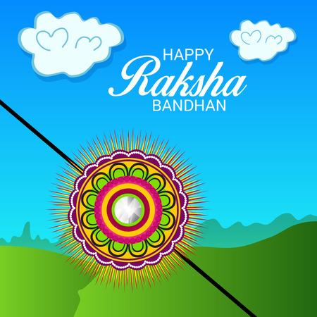 Raksha Bandhan Background Illustration