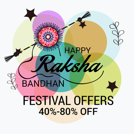 festive occasions: Raksha Bandhan Background Illustration