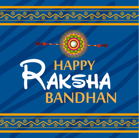 Raksha Bandhan Background Illustration