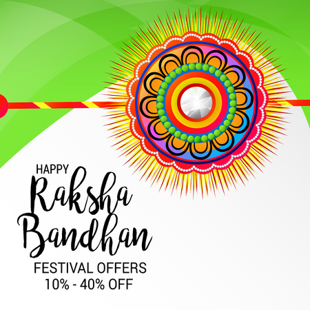 Happy Raksha Bandhan. Vector illustration. Illustration