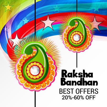 Happy Raksha Bandhan Illustration