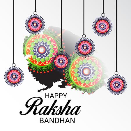 Happy Janmashtami. Vector illustration. Illustration