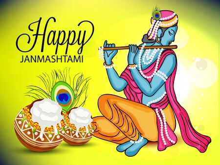 krishna: Happy Janmashtami.