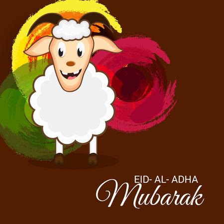illustration of a background for Eid Al Adha Mubarak.