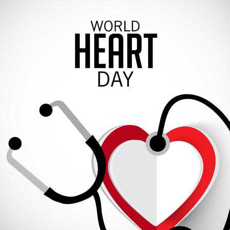 World Heart Day. vector illustration