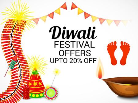 Happy Diwali. Illustration