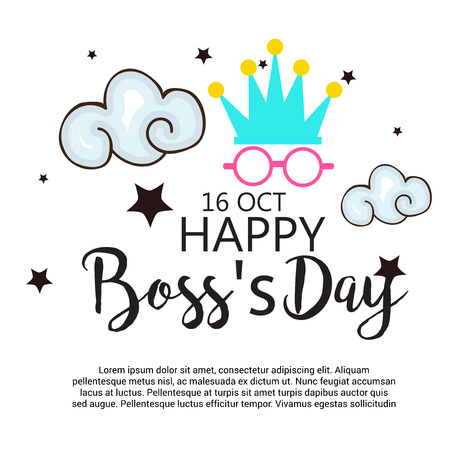 Happy Bosss Day.