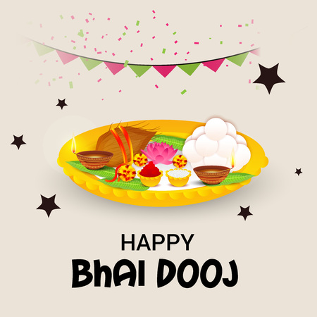 Bhai Dooj. Illustration