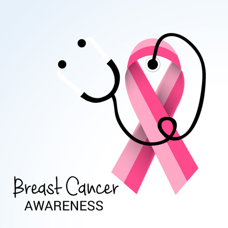 Breast Cancer Awareness. Illustration
