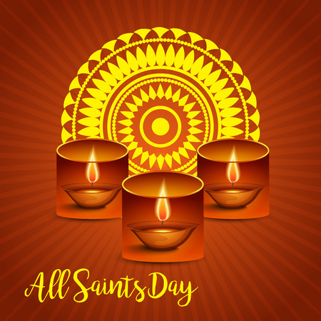 grave stone: All Saints Day.