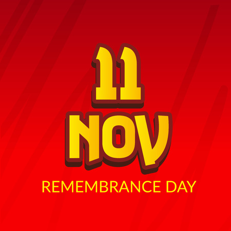 Remembrance  day card design.