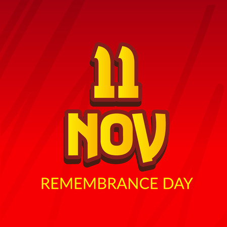 Remembrance day.