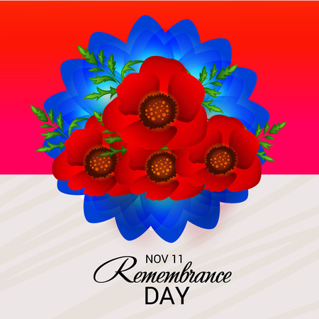 Remembrance Day. vector illustration.