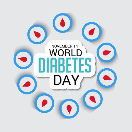 World Diabetes Day poster design Фото со стока - 89216688